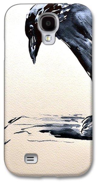 I Am A Crow Galaxy S4 Case by Beverley Harper Tinsley