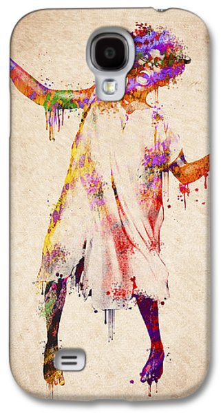 Person Mixed Media Galaxy S4 Cases - I am going crazy Galaxy S4 Case by Aged Pixel