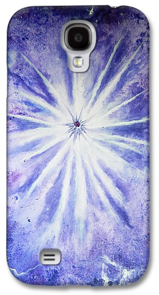 Angel Mermaids Ocean Galaxy S4 Cases - I Am Galaxy S4 Case by Samira Butt
