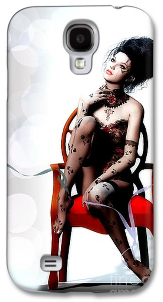 Chair Digital Art Galaxy S4 Cases - I Am Galaxy S4 Case by Shanina Conway