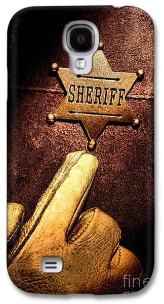 Law Enforcement Galaxy S4 Cases - I AM the Law Galaxy S4 Case by Olivier Le Queinec