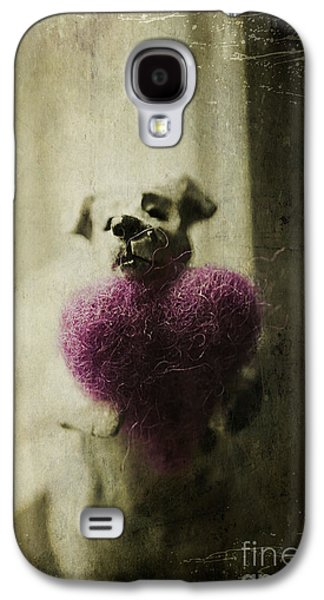Statue Portrait Galaxy S4 Cases - I Give You My Heart Galaxy S4 Case by Terry Rowe