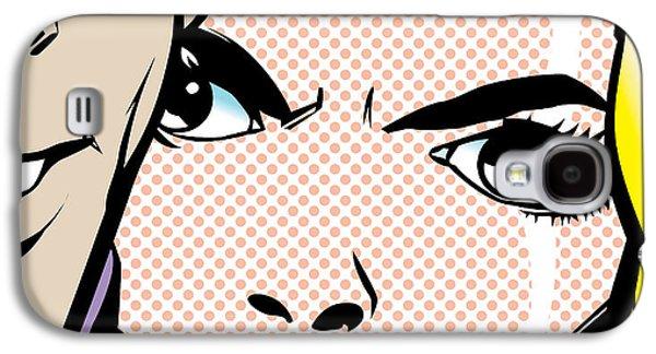 Modern Digital Digital Digital Galaxy S4 Cases - ...I Hate You... Galaxy S4 Case by Gary Grayson