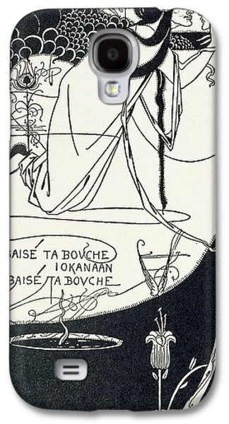 I Kissed Your Mouth Galaxy S4 Case by Aubrey Beardsley