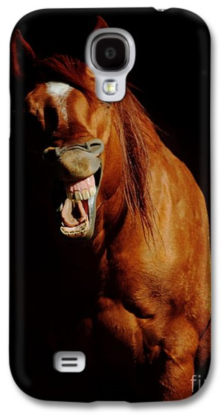 Secret Whispers Photographs Galaxy S4 Cases - Horse Whisperer Galaxy S4 Case by Robert Frederick