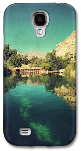 Fish Pond Galaxy S4 Cases - I See Right Through Galaxy S4 Case by Laurie Search