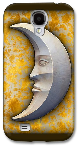 Art166 Galaxy S4 Cases - I See The Moon 1 Galaxy S4 Case by Wendy J St Christopher