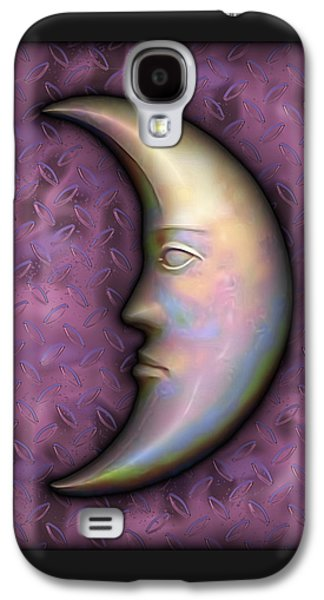 Man In The Moon Galaxy S4 Cases - I See The Moon 2 Galaxy S4 Case by Wendy J St Christopher