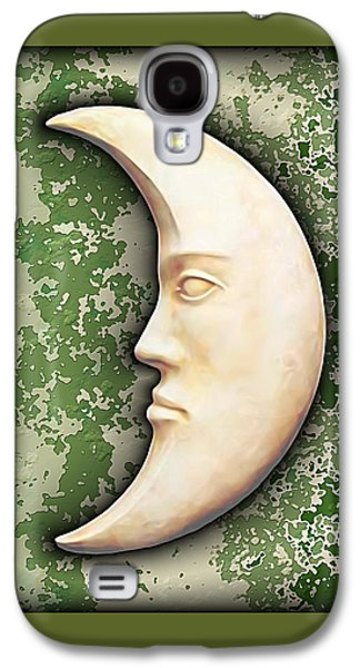 Man In The Moon Galaxy S4 Cases - I See The Moon 3 Galaxy S4 Case by Wendy J St Christopher