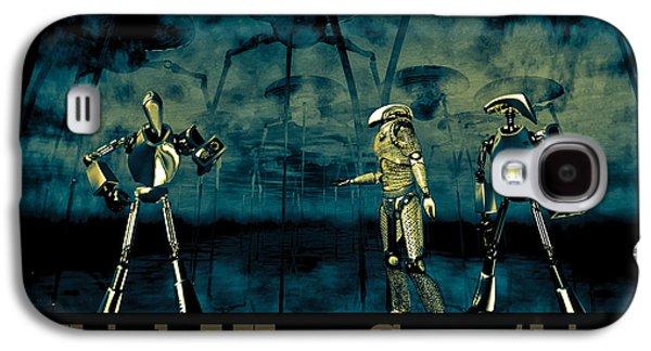 Halloween Digital Galaxy S4 Cases - I Think I Hear Something Galaxy S4 Case by Bob Orsillo