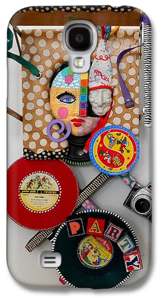 Original Sculptures Galaxy S4 Cases - I Thought You Said You Wanted To Party Galaxy S4 Case by Keri Joy Colestock