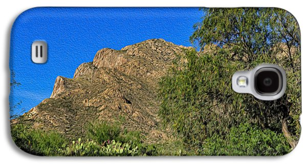 Landscape Acrylic Prints Galaxy S4 Cases - I Took A Walk No.1 Galaxy S4 Case by Mark Myhaver