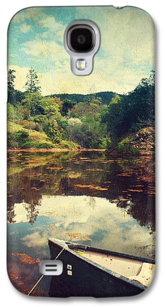 Botanical Digital Art Galaxy S4 Cases - I Tried to Get to You Galaxy S4 Case by Laurie Search