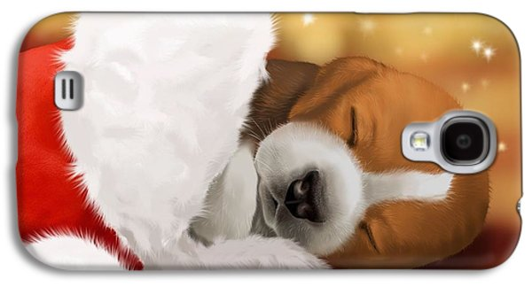 Sleeping Dog Galaxy S4 Cases - I wait... Galaxy S4 Case by Veronica Minozzi