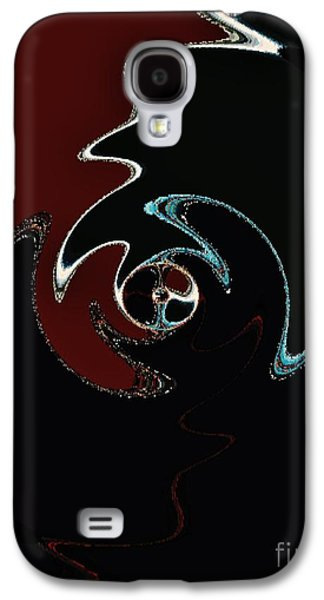 Abstract Digital Paintings Galaxy S4 Cases - I Wanna Be A Rock Star Galaxy S4 Case by Wayne Cantrell