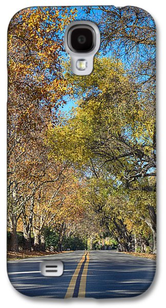 Yellow Line Galaxy S4 Cases - I Will Follow Galaxy S4 Case by Laurie Search