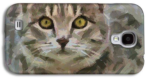 House Pet Digital Art Galaxy S4 Cases - I will jump on you Galaxy S4 Case by Yury Malkov