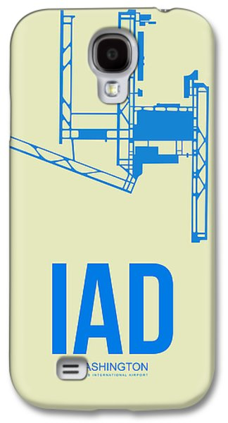 Iad Washington Airport Poster 1 Galaxy S4 Case by Naxart Studio