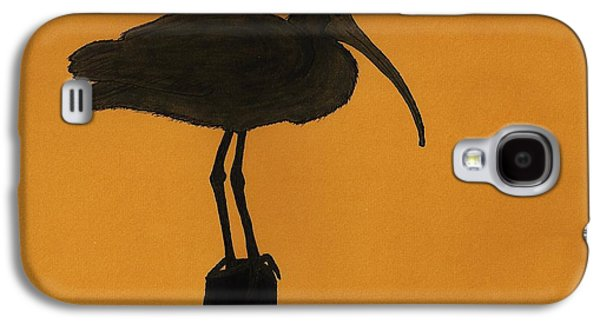 Skylines Pastels Galaxy S4 Cases - Ibis - Silhouette Galaxy S4 Case by D Hackett