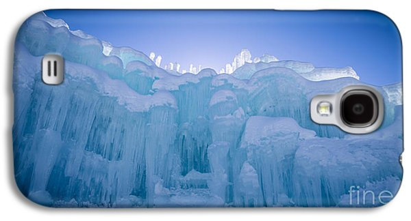 Fury Galaxy S4 Cases - Ice Castle Galaxy S4 Case by Edward Fielding