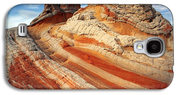 Surreal Landscape Photographs Galaxy S4 Cases - Ice Cream rock of White Pockets Galaxy S4 Case by Keith Kapple