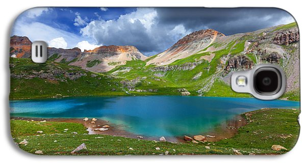 Storm Prints Photographs Galaxy S4 Cases - Ice Lake Afternoon Galaxy S4 Case by Darren  White