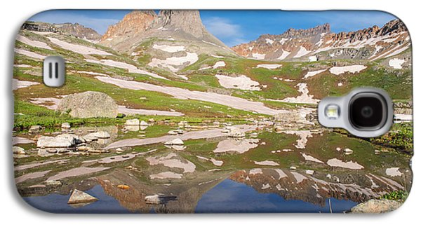 Snow Melt Galaxy S4 Cases - Ice Lakes Reflection Galaxy S4 Case by Aaron Spong