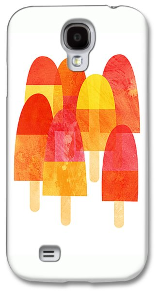 A Hot Summer Day Galaxy S4 Cases - Ice Lollies Galaxy S4 Case by Nic Squirrell