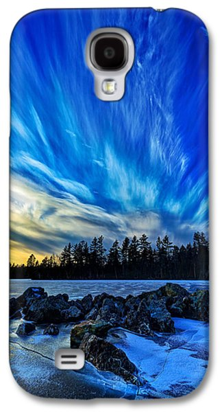 New England Snow Scene Galaxy S4 Cases - Icebound 3 Galaxy S4 Case by Bill Caldwell -        ABeautifulSky Photography
