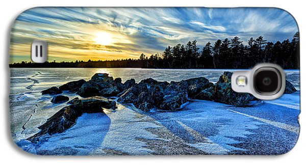 Maine Winter Galaxy S4 Cases - Icebound 5 Galaxy S4 Case by Bill Caldwell -        ABeautifulSky Photography