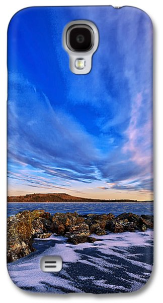 Maine Winter Galaxy S4 Cases - Icebound 6 Galaxy S4 Case by Bill Caldwell -        ABeautifulSky Photography