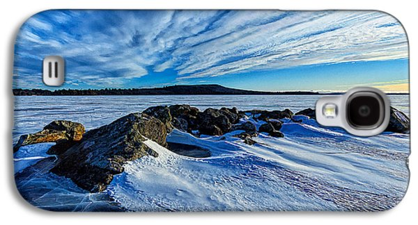 Maine Winter Galaxy S4 Cases - Icebound 7 Galaxy S4 Case by Bill Caldwell -        ABeautifulSky Photography
