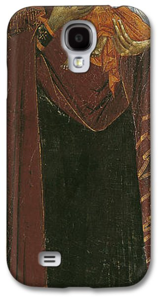 Christ Child Galaxy S4 Cases - Icon Known As The Virgin Of Tsar Dushan, C.1350 Tempera On Panel Galaxy S4 Case by Yugoslavian School
