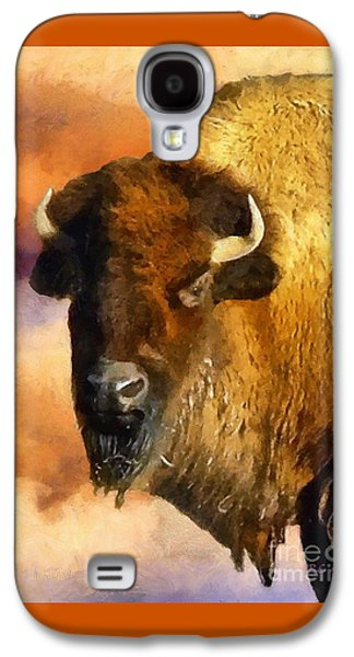 Bison Digital Galaxy S4 Cases - Icon of the Plains Galaxy S4 Case by RC deWinter