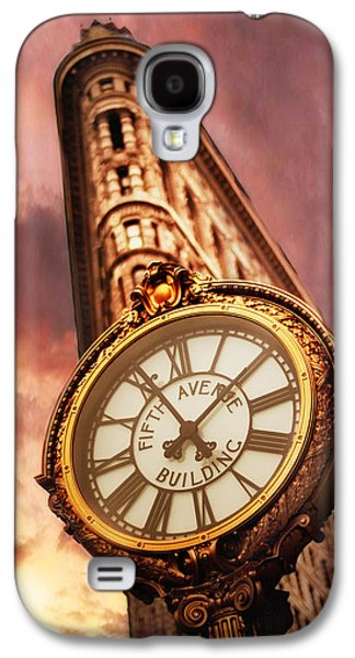 Buildings Digital Galaxy S4 Cases - Iconic Galaxy S4 Case by Jessica Jenney
