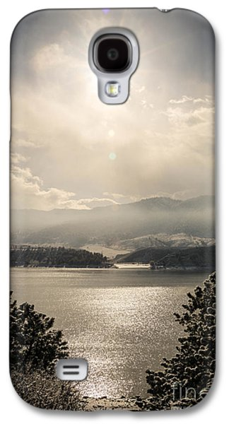 Horsetooth Galaxy S4 Cases - Icy Waters Galaxy S4 Case by Brittany  Carlson