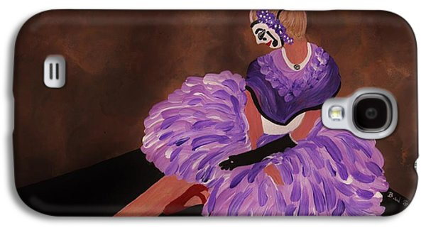 Dance Floor Paintings Galaxy S4 Cases - Identity Unknown Galaxy S4 Case by Barbara St Jean