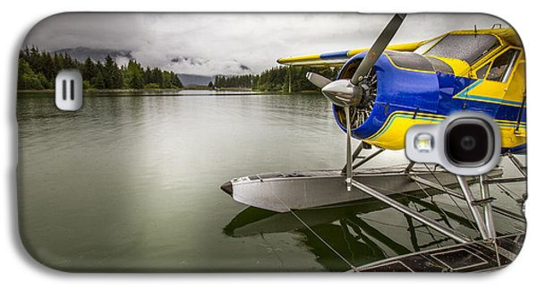 Idle Float Plane At Juneau Airport Galaxy S4 Case by Darcy Michaelchuk