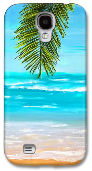 Inspired Paintings Galaxy S4 Cases - Idyllic Place Galaxy S4 Case by Lourry Legarde