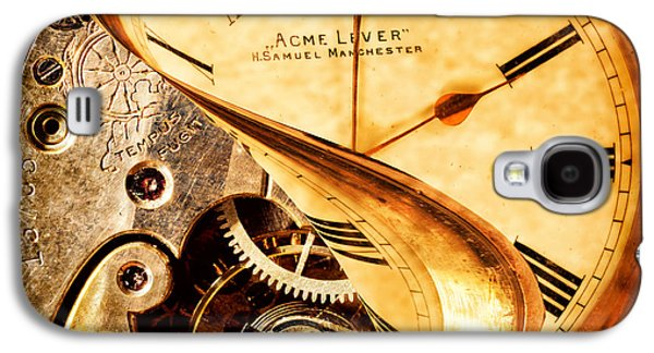 Mechanism Photographs Galaxy S4 Cases - If I Could Turn Back Time Galaxy S4 Case by Amanda And Christopher Elwell