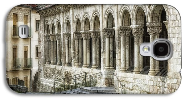 Ancient Galaxy S4 Cases - Iglesia de San Millan Galaxy S4 Case by Joan Carroll