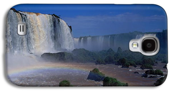 Strong America Galaxy S4 Cases - Iguazu Falls, Argentina Galaxy S4 Case by Panoramic Images