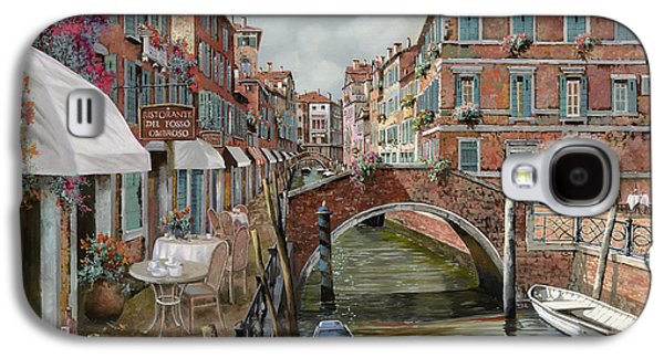 Wine Canvas Paintings Galaxy S4 Cases - Il Fosso Ombroso Galaxy S4 Case by Guido Borelli