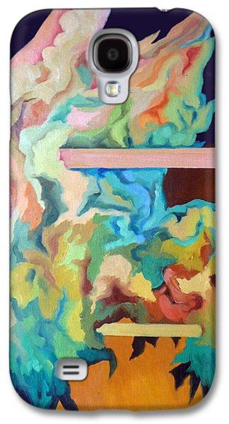 Surrealistic Paintings Galaxy S4 Cases - Il vento Galaxy S4 Case by Antonio Bonamici