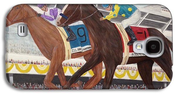 Tripple Galaxy S4 Cases - Ill Have Another wins preakness Galaxy S4 Case by Glenn Stallings