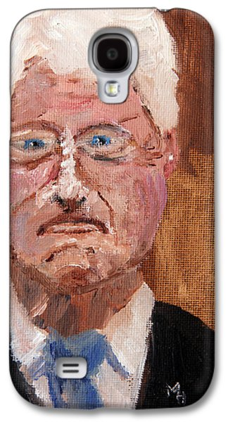 Bill Clinton Galaxy S4 Cases - Ill Never Tell Galaxy S4 Case by Michael Helfen