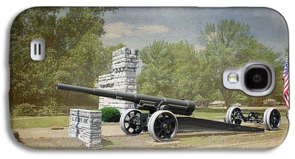 Slavery Galaxy S4 Cases - Illinois Veterans Home Entry - Luther Fine Art Galaxy S4 Case by Luther   Fine Art