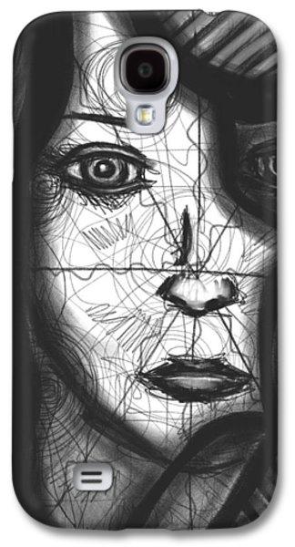 Daina White Galaxy S4 Cases - Illumination of Self Galaxy S4 Case by Daina White