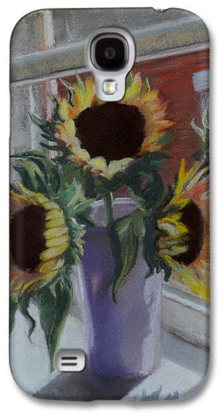Window Pastels Galaxy S4 Cases - Illumine Galaxy S4 Case by Pattie Wall