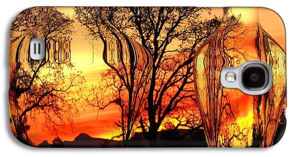 Artography Galaxy S4 Cases - Illusion Galaxy S4 Case by Joyce Dickens